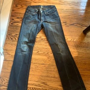 7 for all mankind jeans size 25 denim